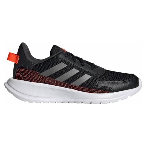 Dětská běžecká obuv Adidas TENSAUR RUN Černá / Oranžová