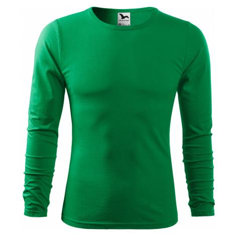 Malfini FIT-T Long Sleeve Pánské triko 11916 středně zelená