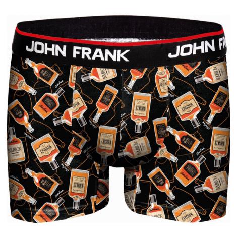 Pánské boxerky John Frank vícebarevné (JFBD249)