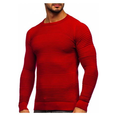 Červený pánský svetr Bolf 4608