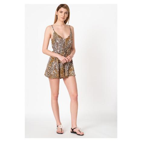 Guess GUESS dámský leopardí overal Short Jumpsuit