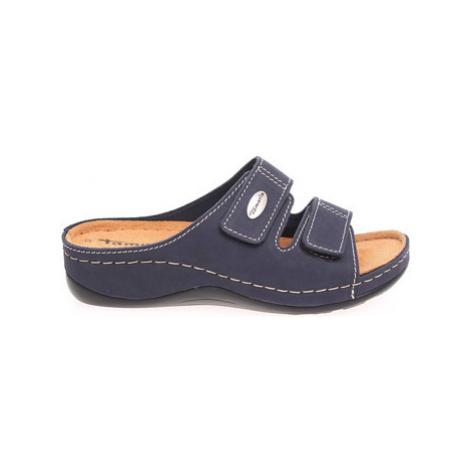 Tamaris Dámské pantofle 1-27510-24 navy Modrá