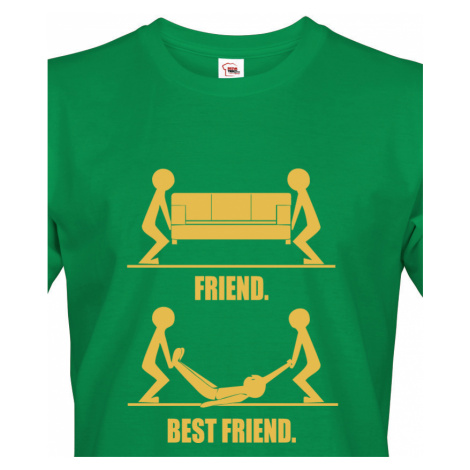 Triko s potiskem pro kamarády Best Friend ideální tričko na rozlučku BezvaTriko