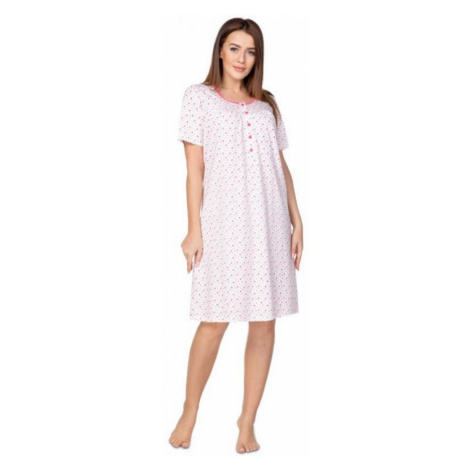 Dámská noční košile Regina 077plus růžová | růžová