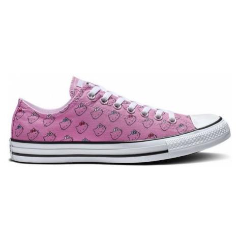 Converse CHUCK TAYLOR ALL STAR HELLO KITTY růžová - Dámské nízké tenisky
