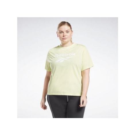 Reebok Sport Identity T-Shirt (Plus Size) Žlutá