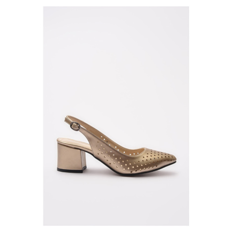 Trendyol Gold Women's Classic Heeled Shoes