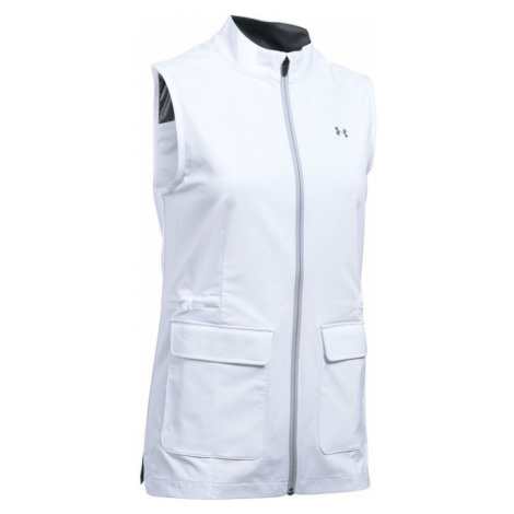 Under Armour Storm WindStrike FZ Vest Dámská vesta 1290247-100 White