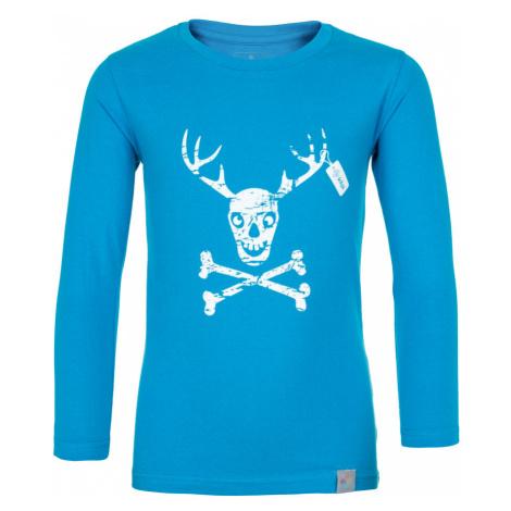 KILPI Chlapecké bavlněné tričko HARDY-JB JJ0082KIBLU Modrá