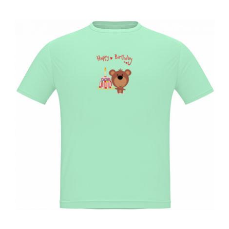 Pánské tričko Classic Heavy Happy Birthday Bear