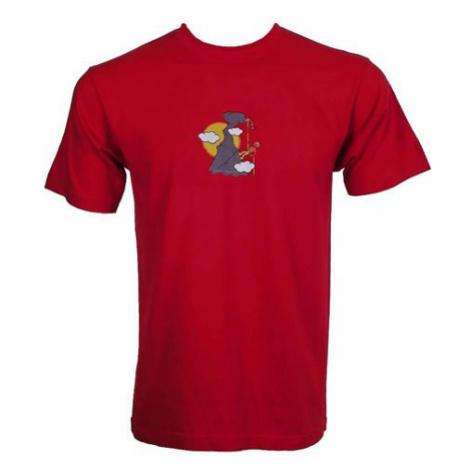 Dap Sport triko pánské Klovající Pták, červená