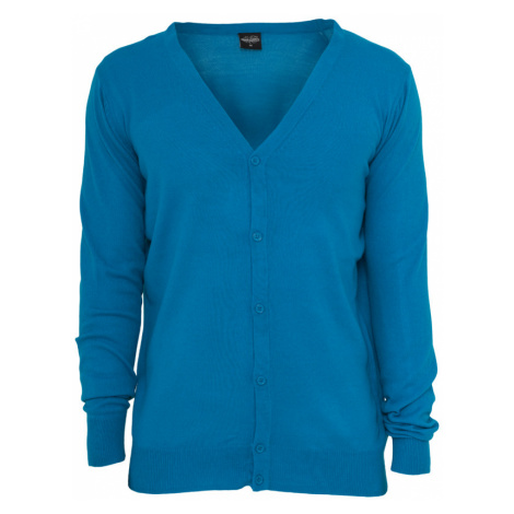 Knitted Cardigan - turquoise Urban Classics