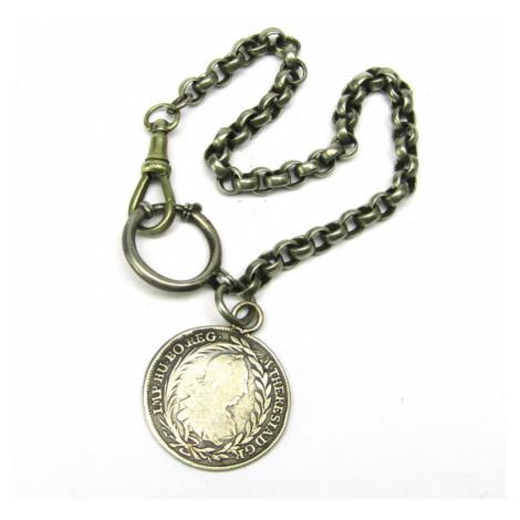 AutorskeSperky.com - Stříbrný přívěsek ke kapesním hodinkám - S2106