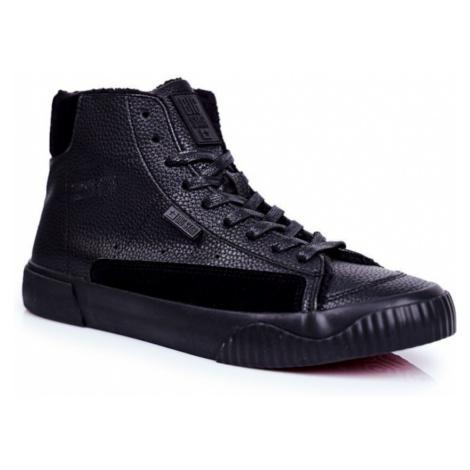 Men's Sneakers High Big Star Black GG174141