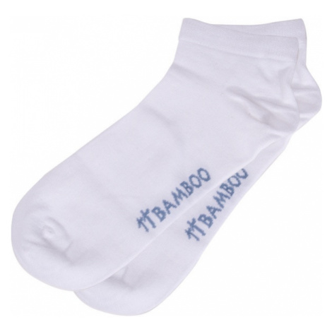 Ponožky Gino bambusové bílé M