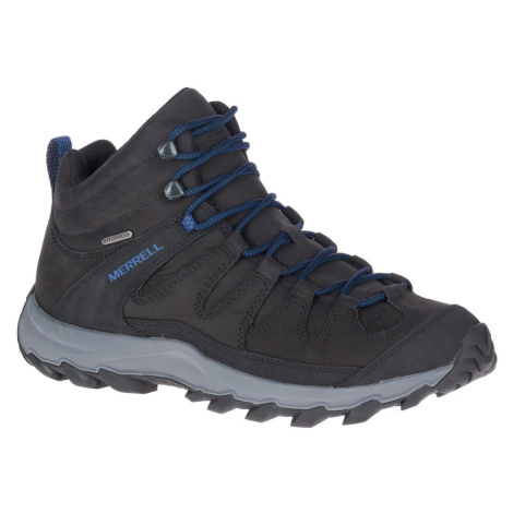 Merrell J035243 ONTONAGON PEAK MID WP black/rock