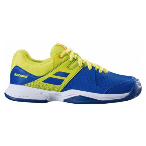 Babolat PULSION JR ALL COURT žlutá - Juniorská tenisová obuv
