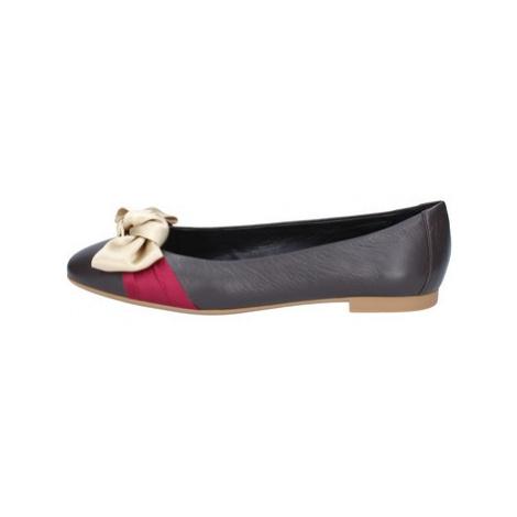 Bally Shoes Baleríny BZ992 Hnědá