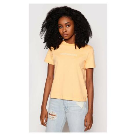 Calvin Klein dámské oranžové tričko