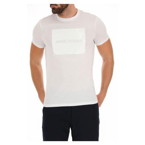 Tričko Armani Exchange 3GZTAC ZJA5Z White