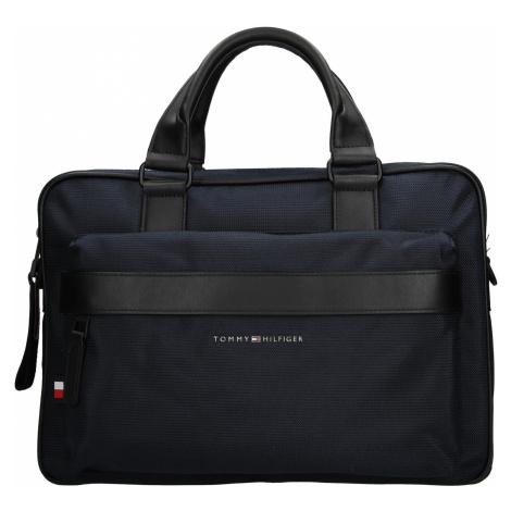 Pánská taška na notebook Tommy Hilfiger Naden - modrá