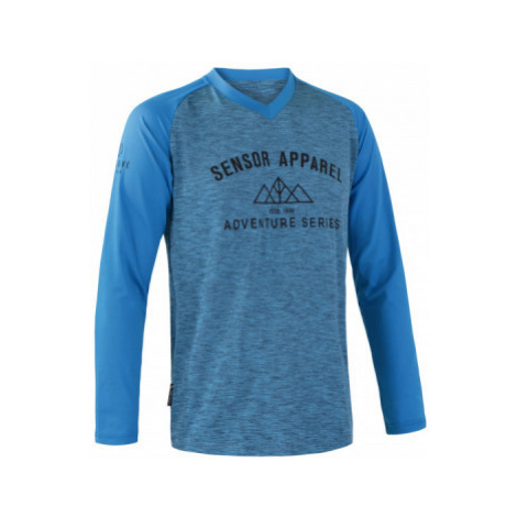 Pánský cyklistický dres Sensor Charger DR modrá