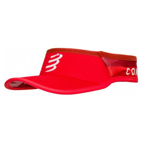 Kšilt Compressport ULTRALIGHT VISOR V2 červená