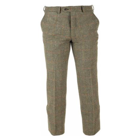Tweedové kalhoty Walker Slater Edward - Moss Red Yellow Herringbone & Windowpane