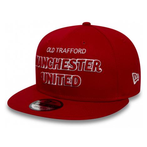 Kšiltovka New Era 9Fifty Script Manchester United FC Scarlet
