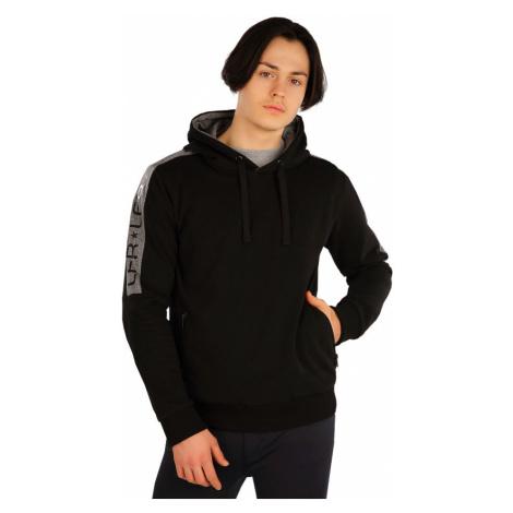 LITEX Mikina pánská s kapucí J1263901 černá