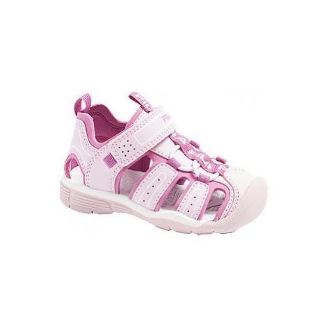 Růžové dětské sandálky Fila