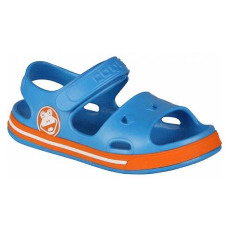 Coqui FOBEE modrá - Dětské sandály