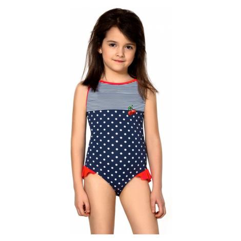 Lorin Dívčí jednodílné plavky Sárinka modré