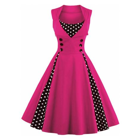 Dámské šaty se širokou sukní FashionEU