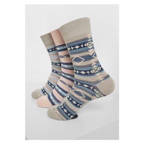 Urban Classics Inka Socks 3-Pack multicolor