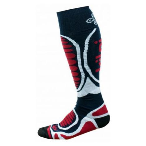 KILPI Unisex lyžařské ponožky - merino ANXO-U JU0126KIDBL Tmavě modrá
