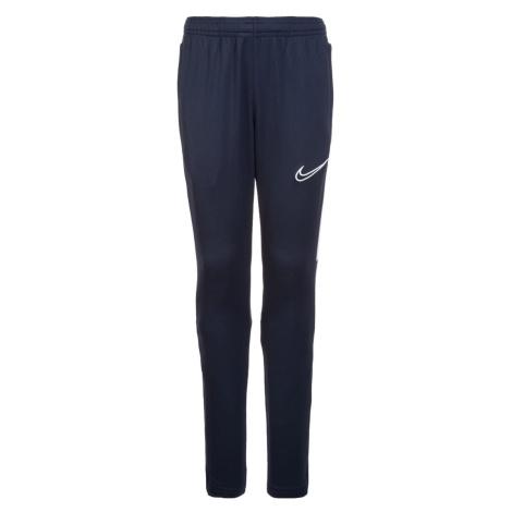 Dětské tréninkové kalhoty Nike DRY ACADEMY19 Tmavě modrá / Bílá