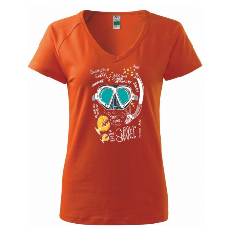 Potapěčské brýle text - Tričko dámské Dream