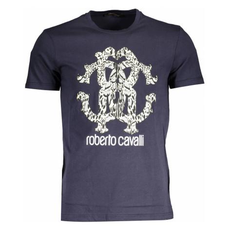ROBERTO CAVALLI tričko s krátkým rukávem Barva: BLU