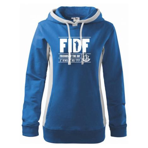Friends Of the IDF (FIDF) - Mikina dámská Kangaroo s kapucí