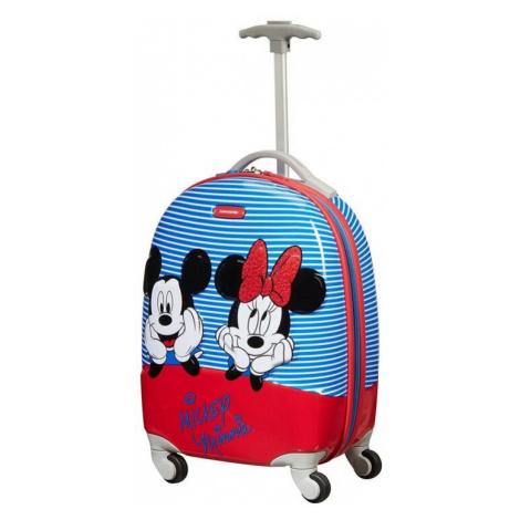 SAMSONITE dětský kufr DISNEY ULTIMATE 2.0 Minie/Mickey Stripes 131852-8705