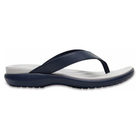 Crocs Capri V Flip W Navy/Pearl White W9