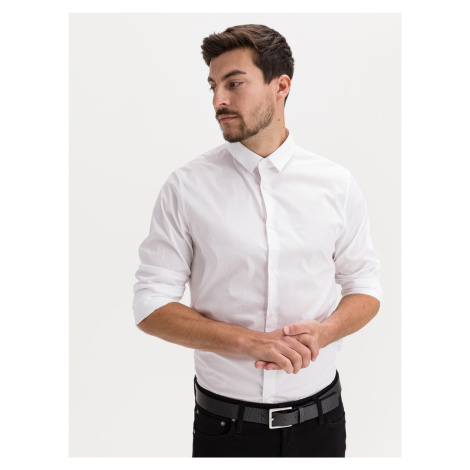 Košile Armani Exchange Bílá