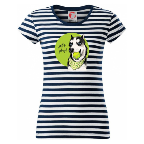Husky - lets play - Sailor dámské triko