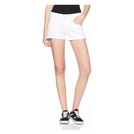 Pepe Jeans dámské bílé kraťasy SIOUXIE