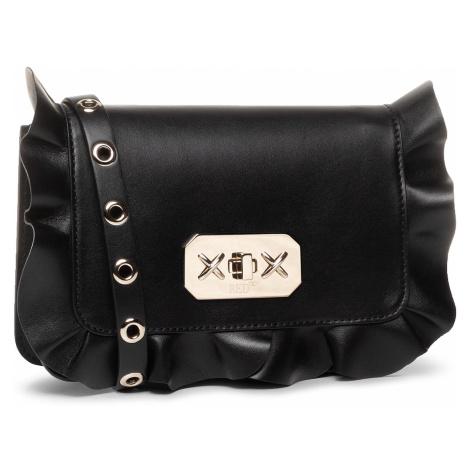 Černá kožená kabelka RED VALENTINO