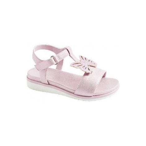 Růžové sandály Cupcake Couture