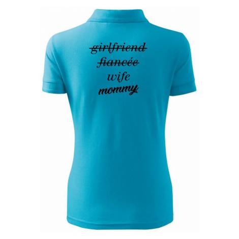 Partnerské triko nastávající rodiče - Polokošile dámská Pique Polo