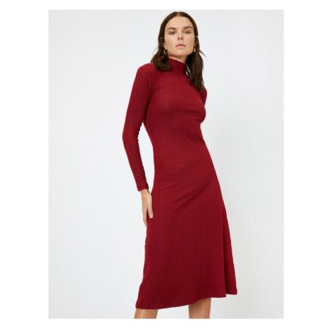 Koton High Collar Dress