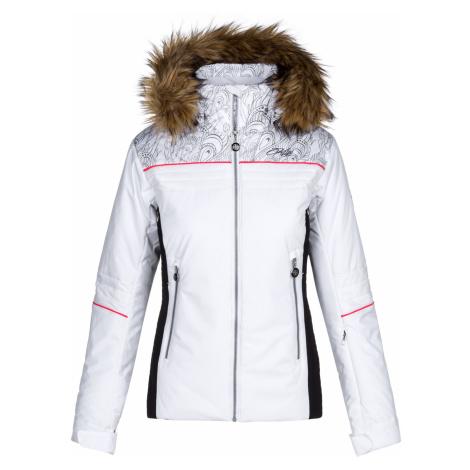KILPI Dámská lyžařská bunda - větší velikosti HENESIE-W LLX023KIWHT Bílá